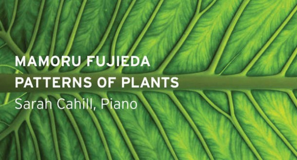 Five Questions for Sarah Cahill about Mamoru Fujieda's Patterns of Plants